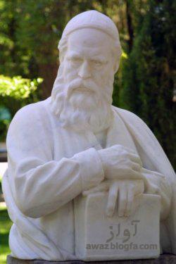 مجسمه حکیم عمر خیام نیشابوری